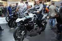 En direct du salon de Milan 2013 : BMW R1200 GS Adventure