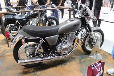 En direct du salon de Milan 2013 : Yamaha SR 400