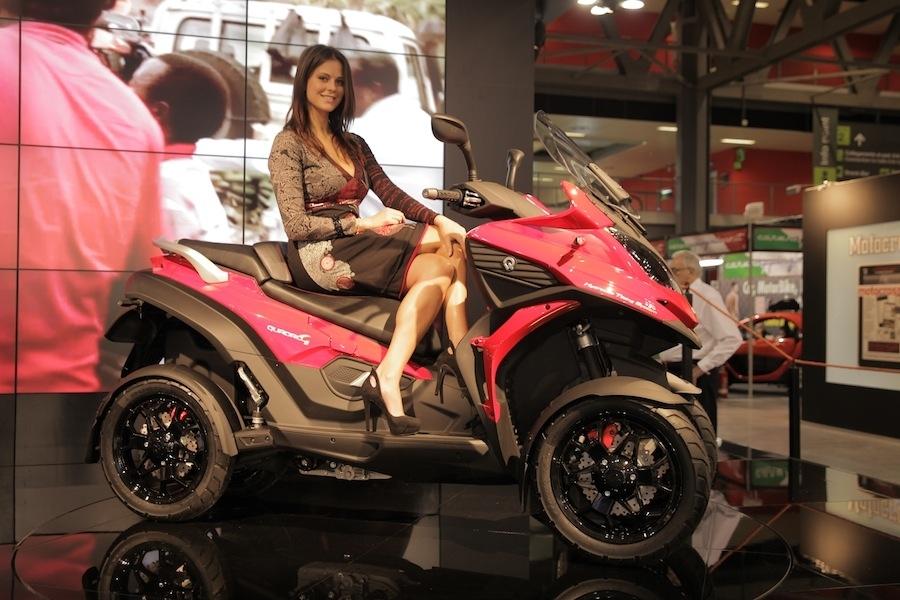 Salon de Milan En Direct : Quadro ''4'' 350 cm3