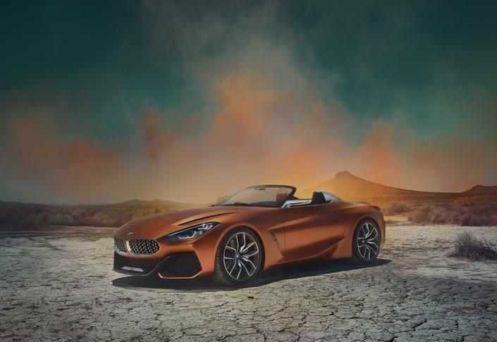 Salon de Francfort 2017 - BMW Z4 Concept: alléchant