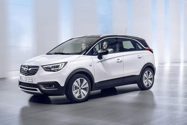 Opel Crossland X: adieu Meriva