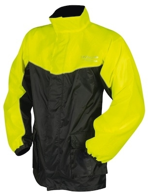 DMP Flash: veste pluie haute visibilité.
