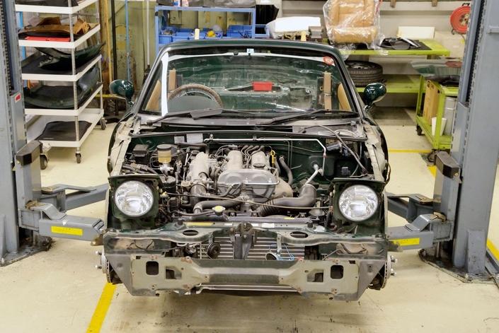 Mazda lance un projet de restauration de la MX-5 NA