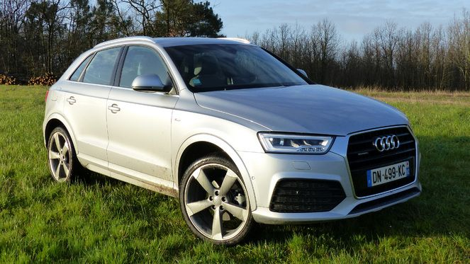 Audi q3 prix for Interieur q3 s line