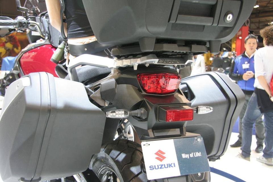 Salon de Milan en direct : Suzuki V-Strom 1000
