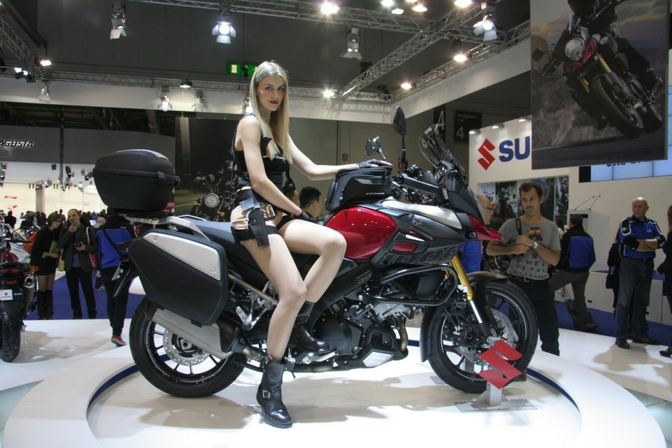 Salon de Milan en direct : Suzuki V-Strom 1000