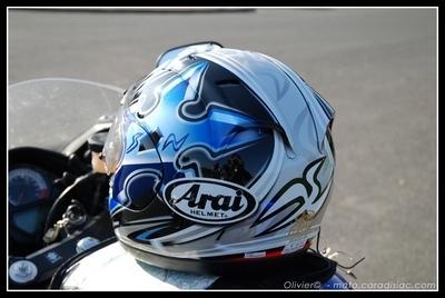 Essai casque : Arai RX7-Corsair 2008
