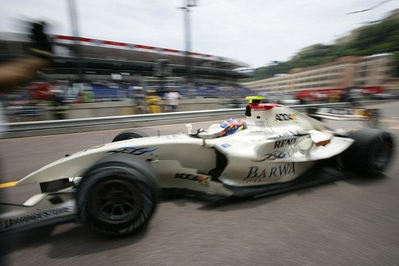 GP2 Monaco : Grosjean (largement) en pole
