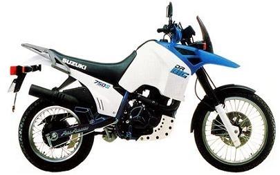 20 ans déjà, la Suzuki 750 DR Big