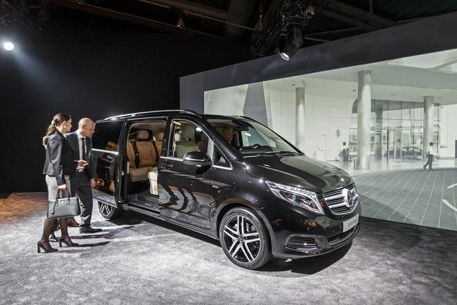 Salon de Genève 2014 - Nouveau Mercedes Classe V