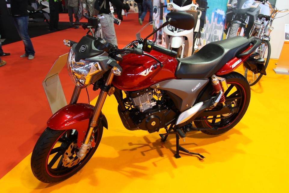 Nouveauté Moto : Keeway RKV 125