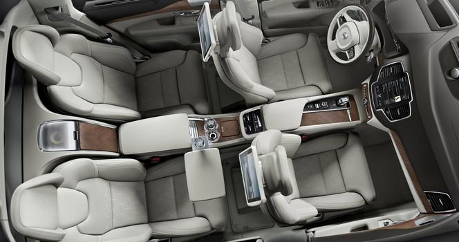 Salon de Shanghai : Volvo vise le grand luxe avec le XC90 Excellence
