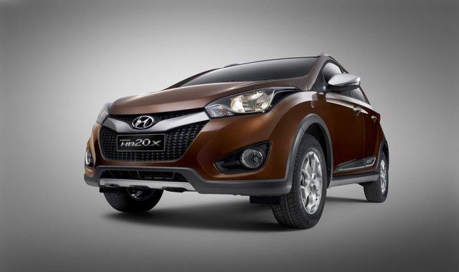Sao Paulo 2012 : Hyundai HB20X, look SUV pour citadine surélevée
