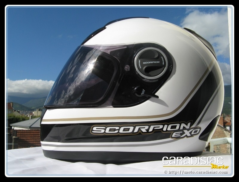 Essai matériel : Scorpion EXO-750 Air : la technologie au rendez-vous