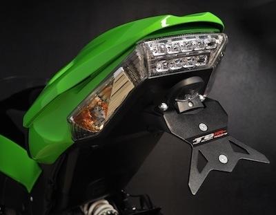 Top Block protège la Kawasaki ZX10-R millésime 2011.