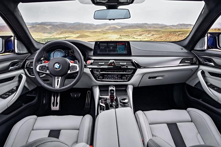 Salon de Francfort 2017 - BMW M5 : la puissance intégrale