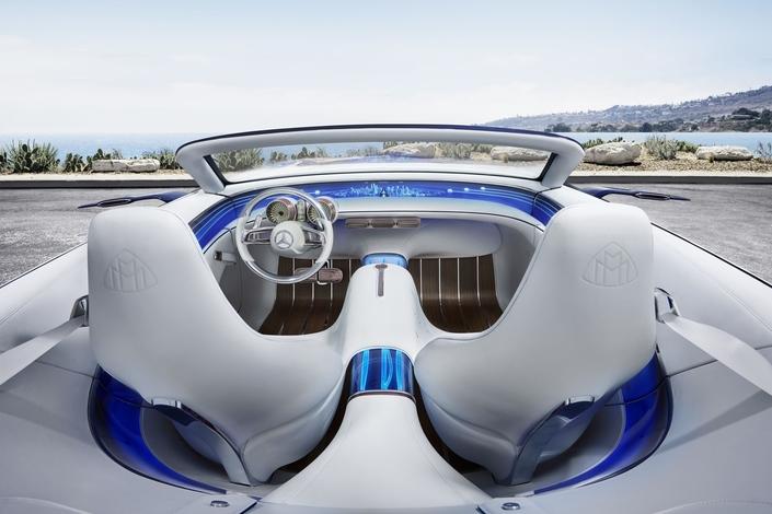 Pebble Beach 2017 - La Mercedes-Maybach Vision 6 revient en cabriolet