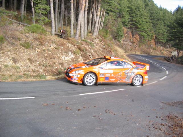 Rallye-Cuoq : Enfin des photos de sa 307 WRC
