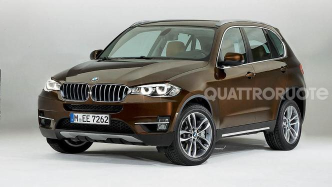 Scoop Caradisiac : le futur BMW X5 sur l'A4