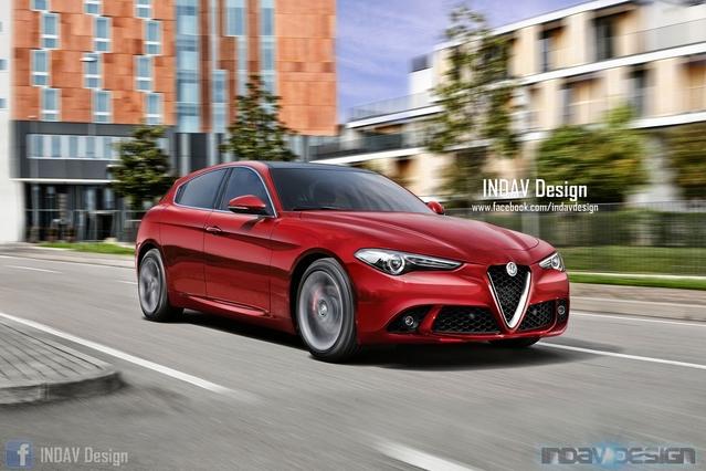 Un graphiste imagine la future Alfa Romeo Giulietta