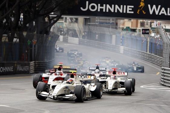 GP2 Monaco Course 1 : Grosjean de bout en bout