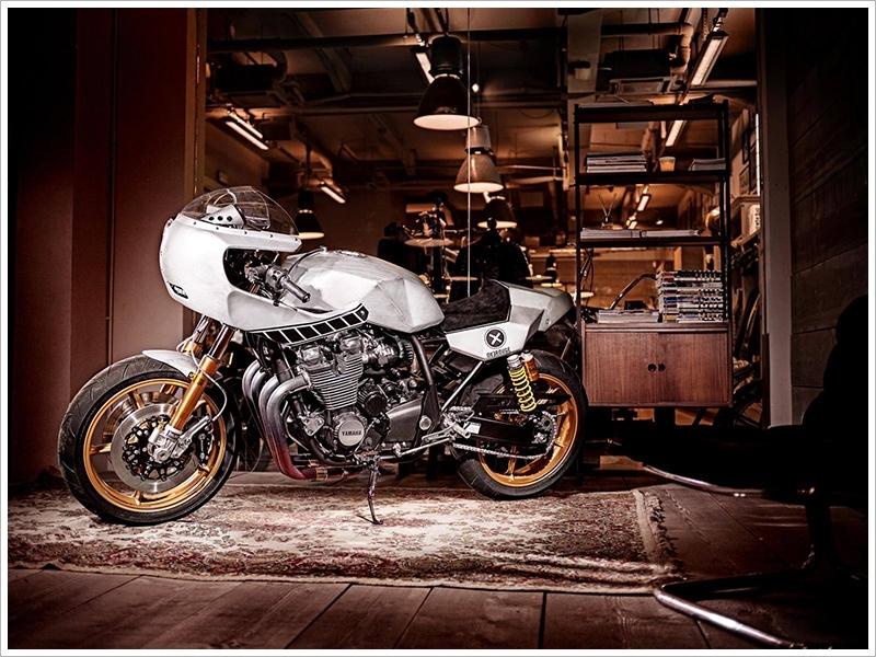 Salon de Milan : Yamaha XJR 1300 Eau Rouge par Deus ex machina