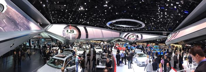 Audi va faire de grosses économies au Salon de Francfort avec un petit stand