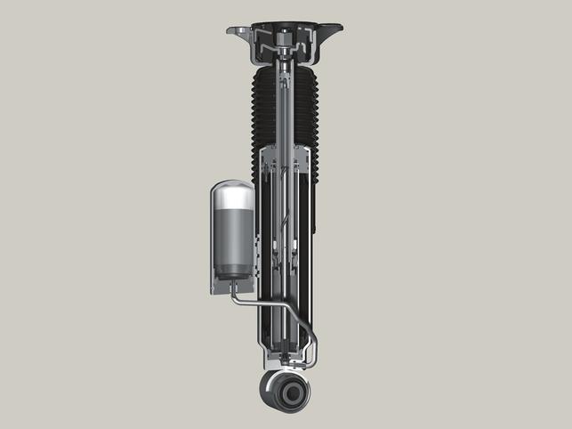 Groupe ZF : l'amortisseur Nivomat permet de faire des économies de carburant !