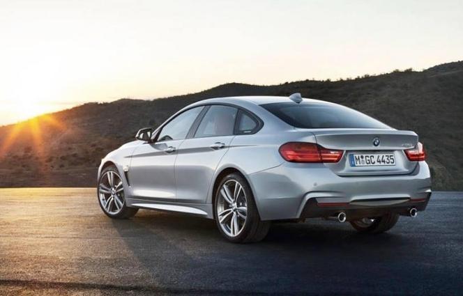 Genève 2014 - Nouvelle BMW Série 4 Gran Coupe: sous tous les angles