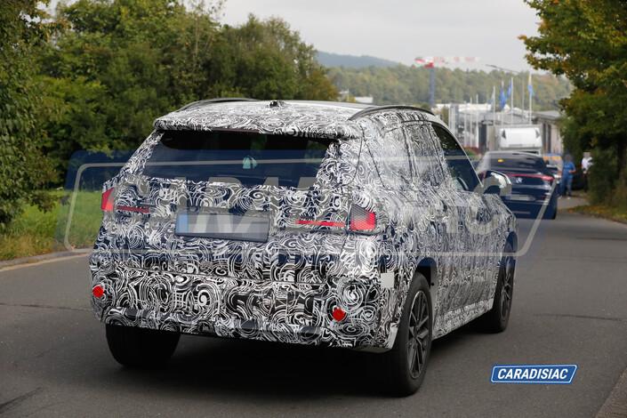 Scoop - BMW X1 (2022): already at work
