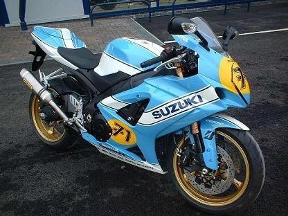 Suzuki Vermeulen du Grand-Prix d'Australie en série limitée.