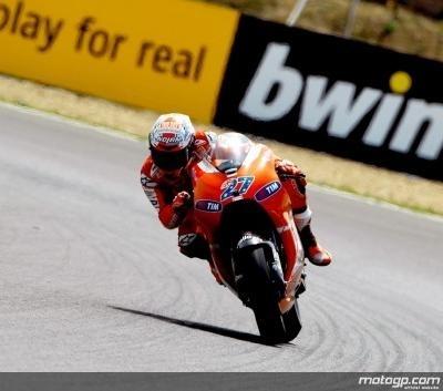 Moto GP - Test Jerez: Gros travail sur le châssis de Stoner