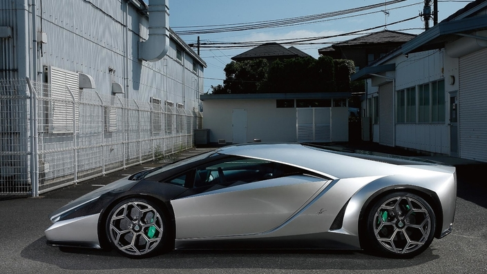 Pebble Beach : le papa de la Ferrari Enzo présente sa création