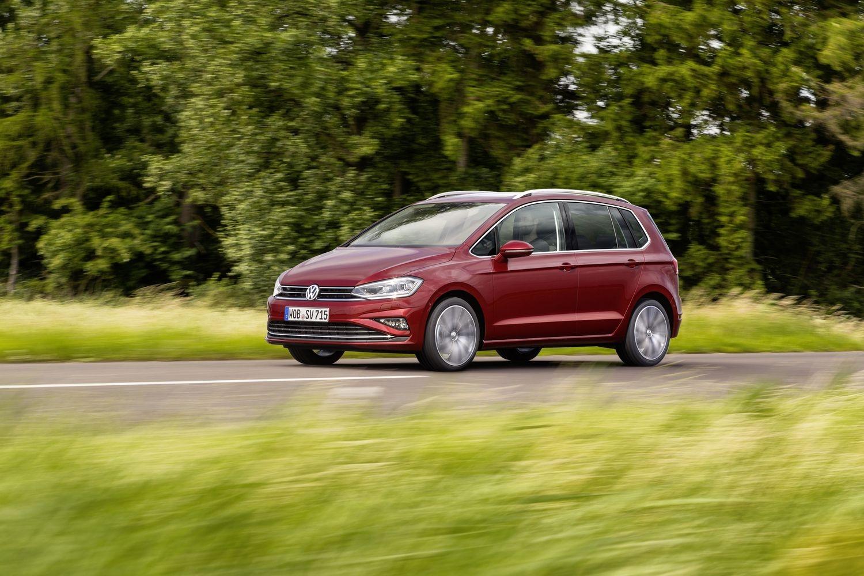 Restylage pour la Volkswagen Golf Sportsvan (2017)