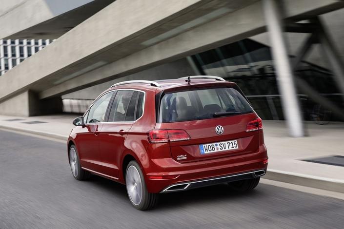 Salon de Francfort 2017 - Volkswagen Golf Sportsvan: remise à niveau