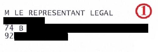 L'avis de contravention est bien toujours envoyé au représentant légal de la société à laquelle appartient le véhicule flashé. Soit au patron.