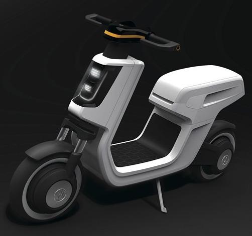 Concept : un scooter électrique chez Volkswagen