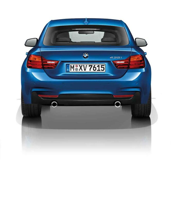 Salon de Genève 2014 - La BMW Série 4 Gran Coupe officialisée