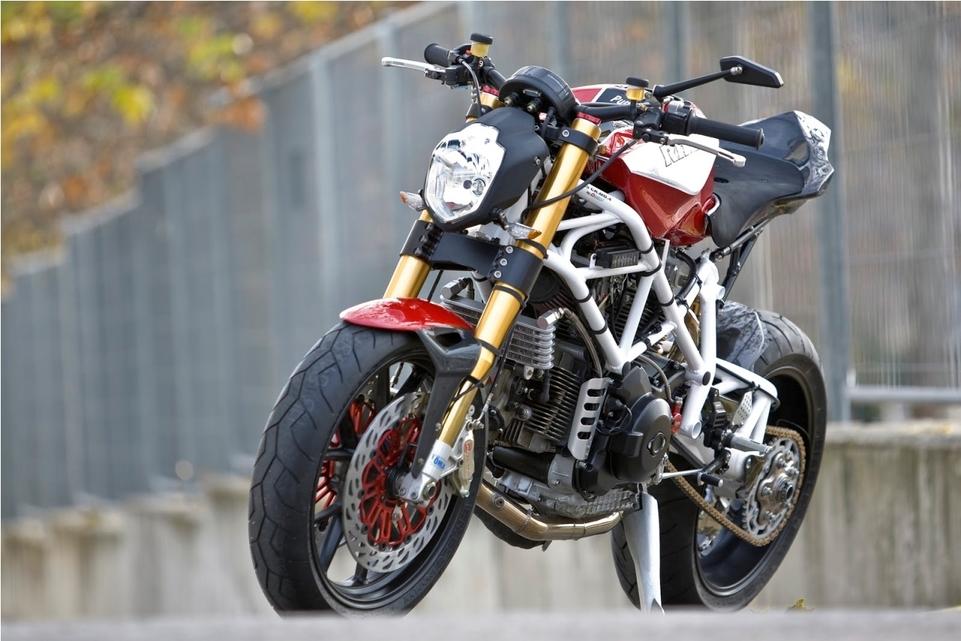 Radical Ducati RAD02 Pursang : 100 pursang Ducati radicale