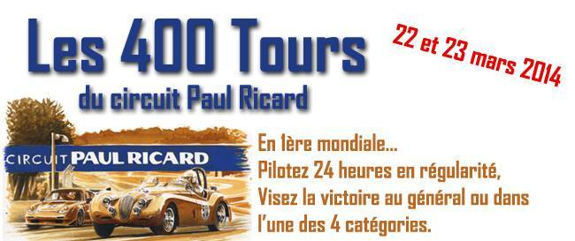 Découvrez les 400 tours du Paul Ricard, une course de régularité sur 24h !
