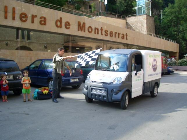 Rosa Mari Palacios et Jaume Bayà : un pèlerinage de 1 100 km en Mega electric Multitruck