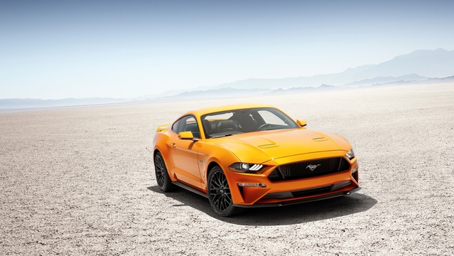Ford dévoile la Mustang restylée