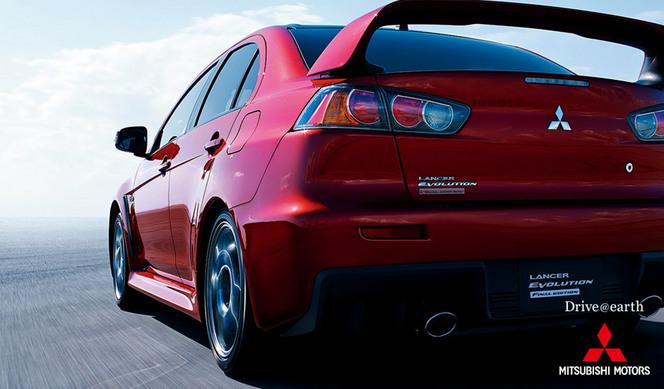 Mitsubishi Lancer Evolution Final Edition, comme son nom l'indique