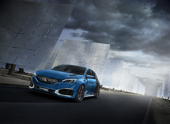 Salon de Shanghai 2015 : Peugeot présente une 308 R Hybrid de 500ch