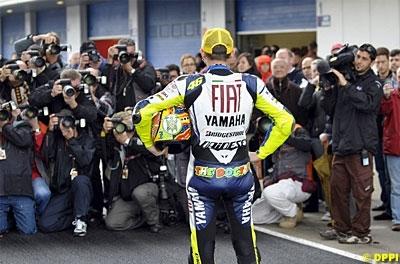 Moto GP - Rossi: Valentino ne prendra plus d'intermédiaire