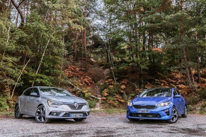 Comparatif - Kia Ceed VS Renault Mégane: folles ambitions