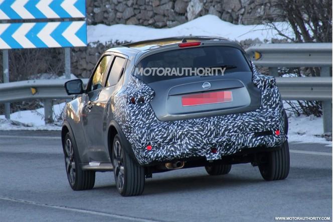 Surprise : le Nissan Juke teste son restyling
