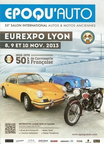 35ème Salon Epoqu'auto ce week end à Lyon.