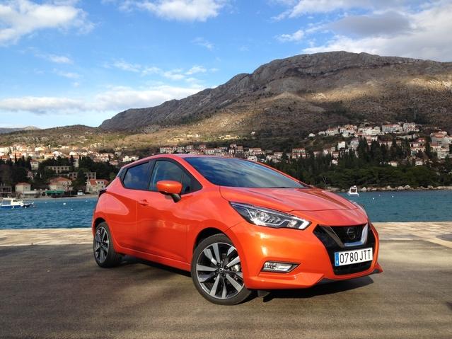 Nissan Micra 5 (2017) : découvrez les premières images de l'essai en live