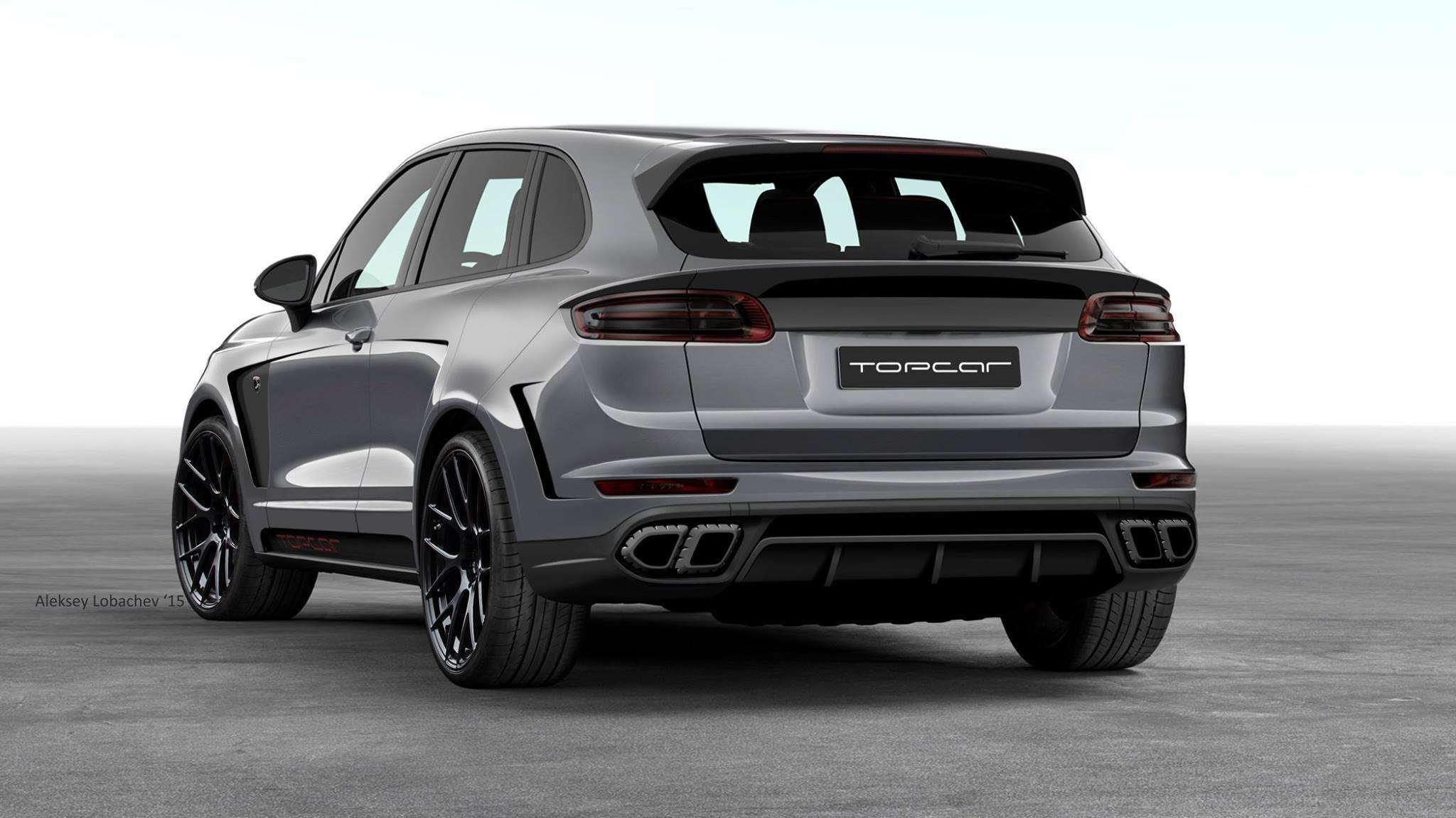 Porsche Cayenne Redesign >> Insolite : un tuner russe mixe un Porsche Cayenne, une 911 ...